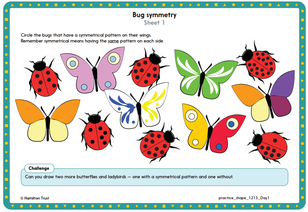 Maths Worksheets For Year 1 Hamilton Trust